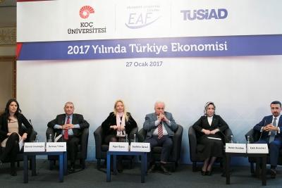 """TÜSİAD & Koç Üniversitesi Ekonomik Araştırma Forumu (EAF) """"Türkiye Ekonomisi 2017"""" Konferansı"""
