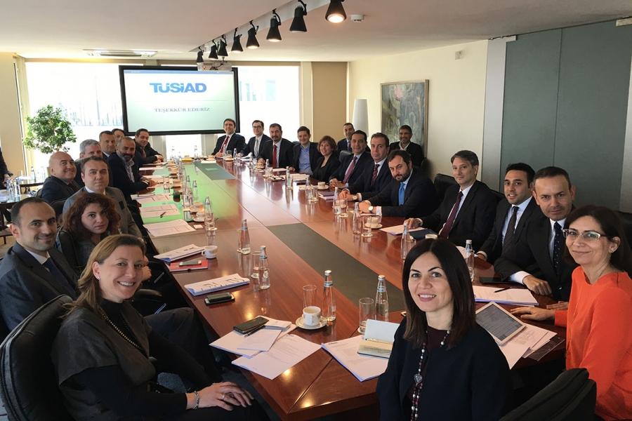 TÜSİAD Körfez İşbirliği Konseyi Ülkeleri Network Kuruldu ve İlk Toplantısını Gerçekleştirdi