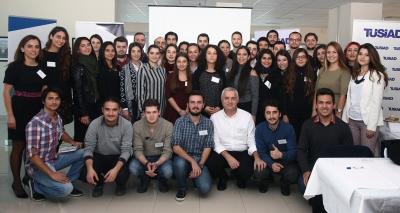 TÜSİAD Gençlik Platformu Ege Bölgesi Çalıştayı İzmir'de Düzenlendi