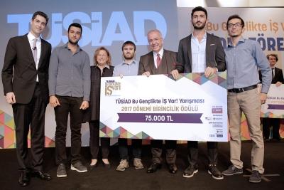 """""""TÜSİAD Bu Gençlikte İŞ Var!"""" Yarışmasında Büyük Ödülün Sahibi Physhome Oldu"""