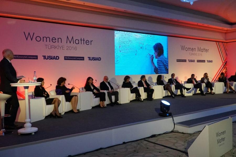 """TÜSİAD İşbirliğiyle McKinsey & Company """"Women Matter Türkiye 2016"""" Raporu Tanıtım Toplantısı Gerçekleştirildi - 22 Aralık 2016"""
