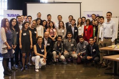 """""""TÜSİAD Gençlik Platformu"""" kuruluş çalıştaylarının ilki İstanbul'da gerçekleşti."""