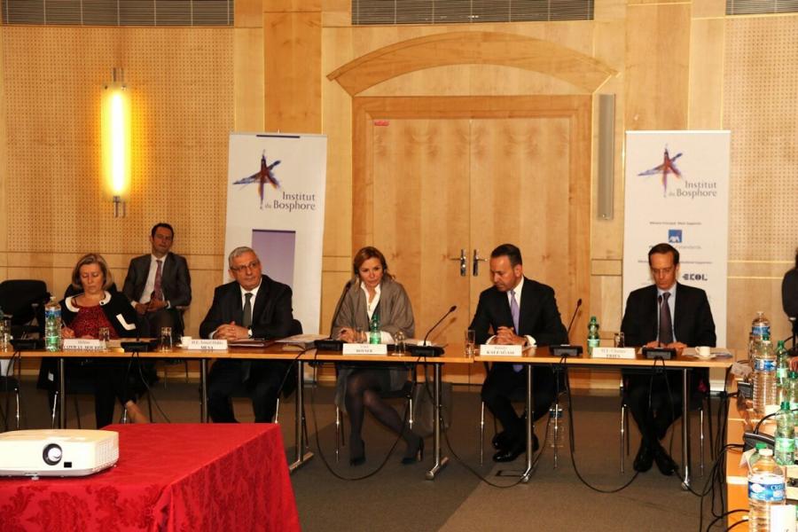 Institut du Bosphore Bilim Kurulu Toplantısı 12 Nisan Çarşamba günü Paris'te düzenlendi